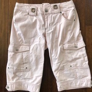 Athleta Kick It Cargo Shorts Size 4